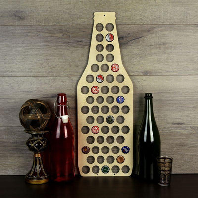 Torched Products Beer Bottle Cap Holder Beer Bottle Beer Cap Holder