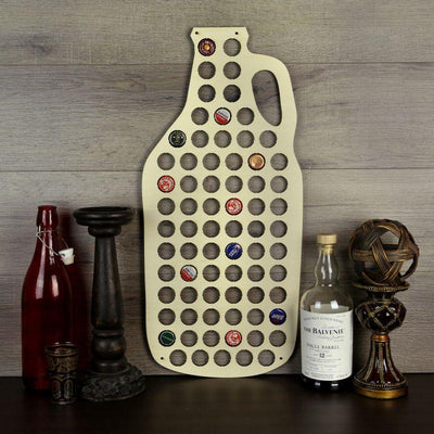 Torched Products Beer Bottle Cap Holder Beer Growler Beer Cap Holder