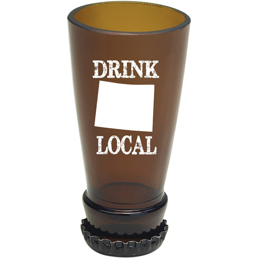 Torched Products Barware Colorado Drink Local Beer Bottle Shot Glass (4507015020593)