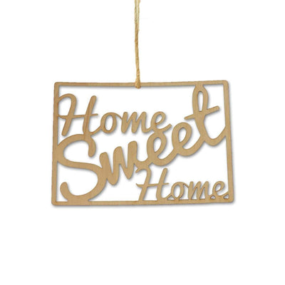 Torched Products Ornaments Colorado Home Sweet Home Ornaments