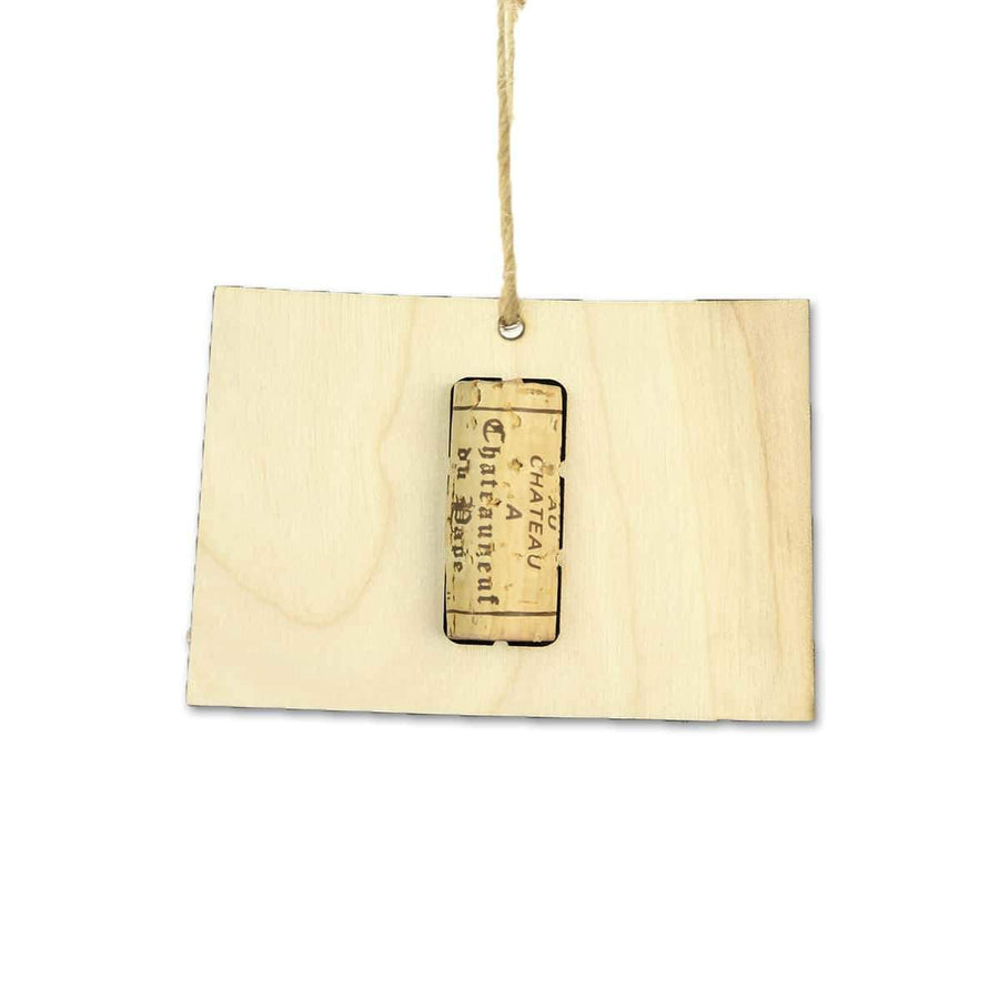 Torched Products Wine Cork Holder Colorado Wine Cork Holder Ornaments