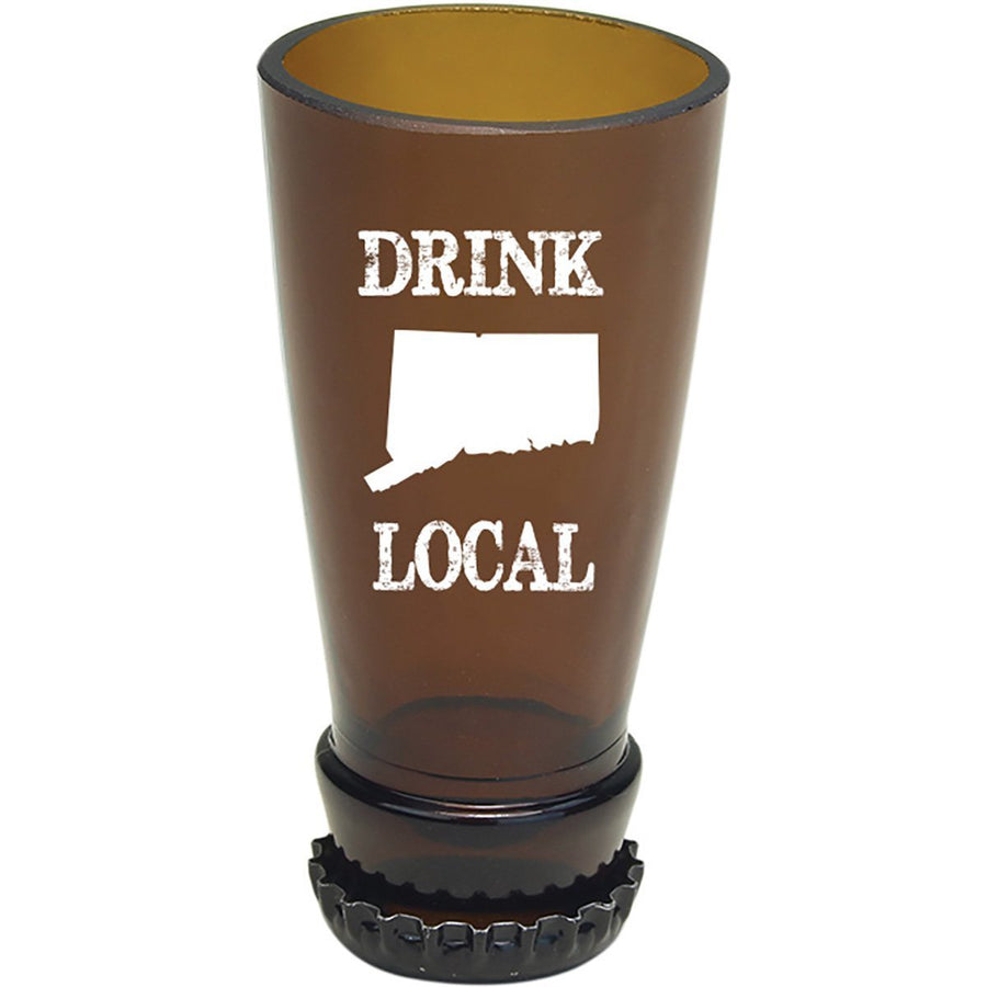 Torched Products Barware Connecticut Drink Local Beer Bottle Shot Glass (4507015053361)