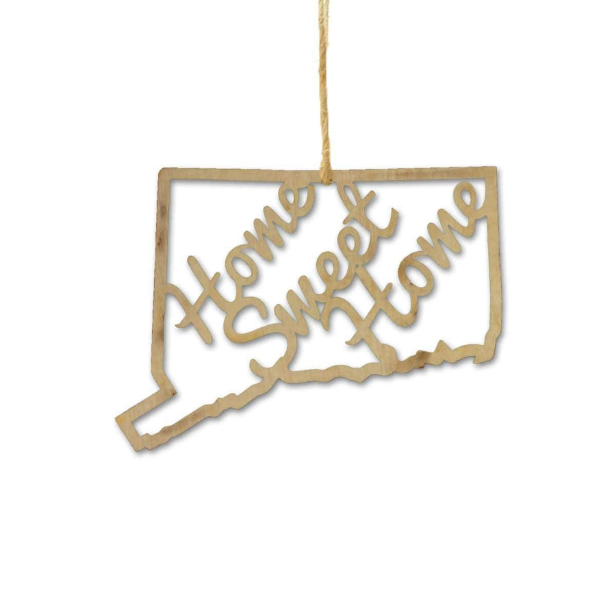 Torched Products Ornaments Connecticut Home Sweet Home Ornaments