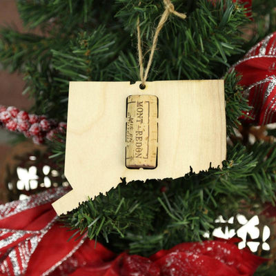 Torched Products Wine Cork Holder Connecticut Wine Cork Holder Ornaments (781196230773)