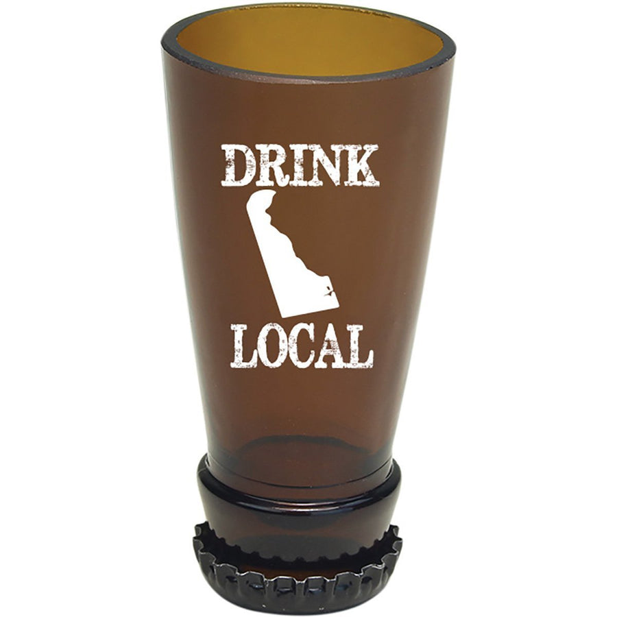 Torched Products Barware Delaware Drink Local Beer Bottle Shot Glass