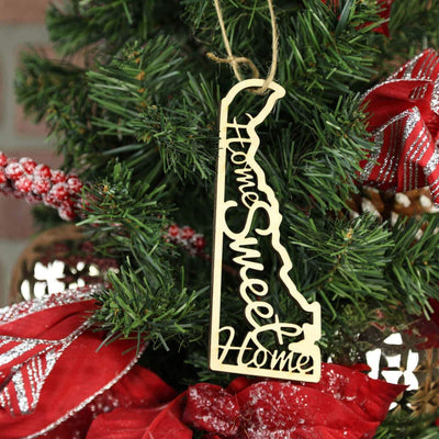 Torched Products Ornaments Delaware Home Sweet Home Ornaments