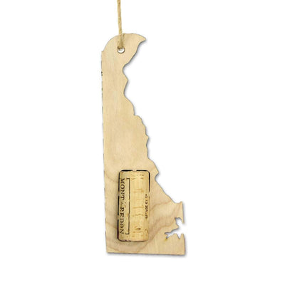 Torched Products Wine Cork Holder Delaware Wine Cork Holder Ornaments
