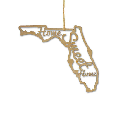 Torched Products Ornaments Florida Home Sweet Home Ornaments