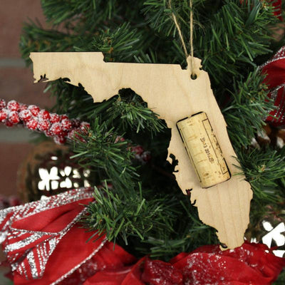 Torched Products Wine Cork Holder Florida Wine Cork Holder Ornaments (781196656757)