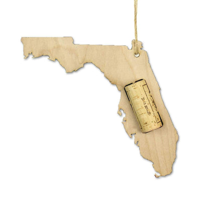 Torched Products Wine Cork Holder Florida Wine Cork Holder Ornaments