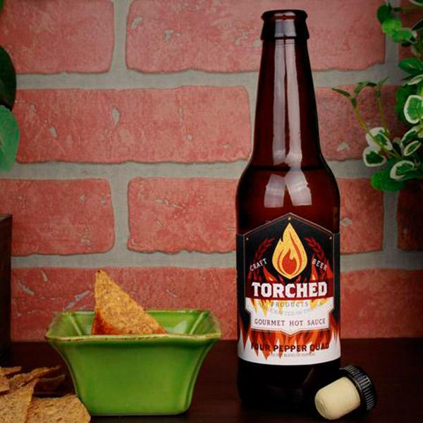 Torched Products Hot Sauces Four Pepper Quad Hot Sauce (9307116368)