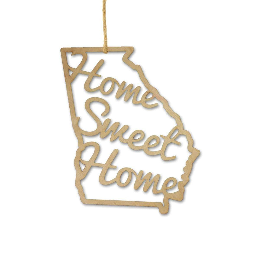 Torched Products Ornaments Georgia Home Sweet Home Ornaments