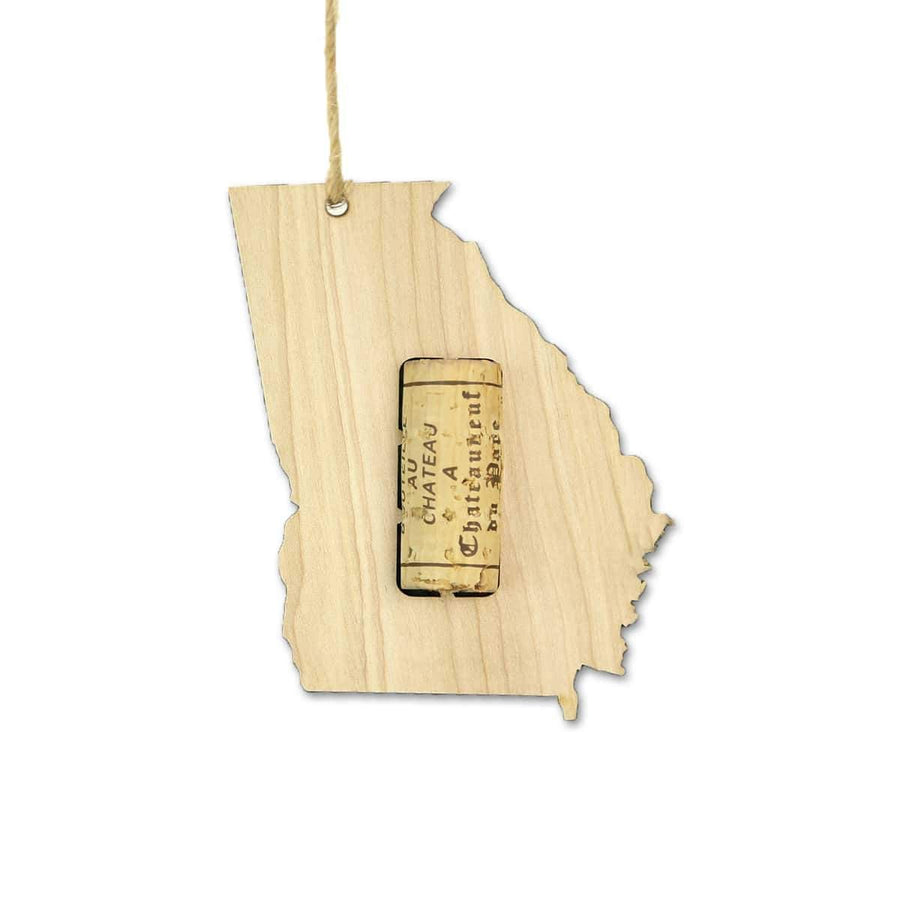 Torched Products Wine Cork Holder Georgia Wine Cork Holder Ornaments (781196787829)