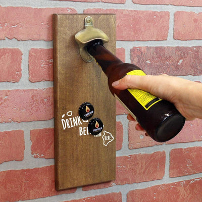 Torched Products Bottle Opener Default Title Hawaii Drink Beer From Here Cap Catching Magnetic Bottle Openers (781486948469)