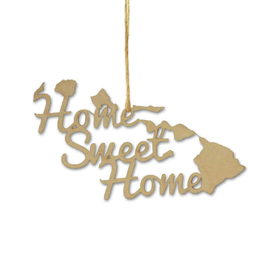 Torched Products Ornaments Hawaii Home Sweet Home Ornaments