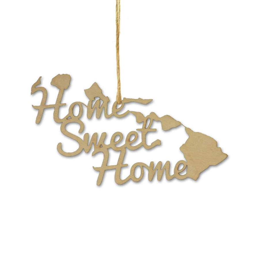 Torched Products Ornaments Hawaii Home Sweet Home Ornaments (781213302901)