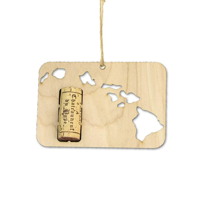 Torched Products Wine Cork Holder Hawaii Wine Cork Holder Ornaments (781197279349)