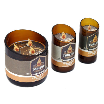 Torched Products Beer Candles Honeysuckle Wheat Beer Candle (9276891664)