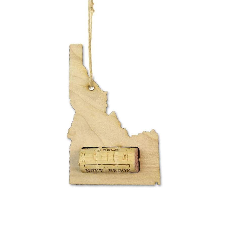 Torched Products Wine Cork Holder Idaho Wine Cork Holder Ornaments
