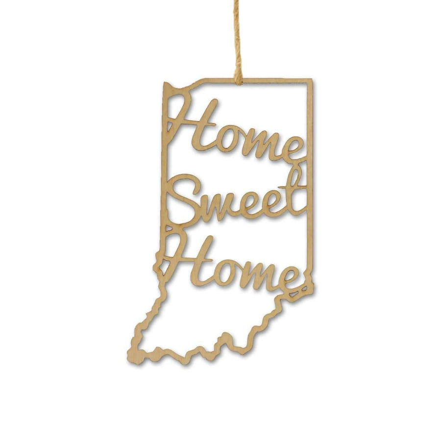 Torched Products Ornaments Indiana Home Sweet Home Ornaments