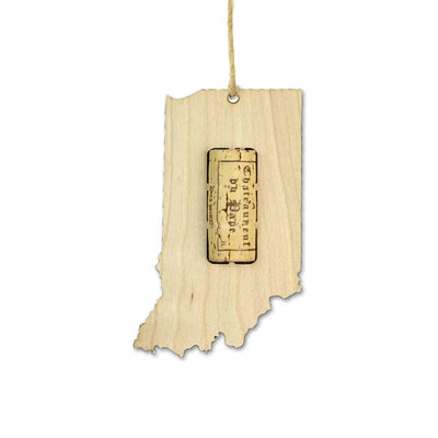 Torched Products Wine Cork Holder Indiana Wine Cork Holder Ornaments