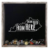 Torched Products Shadow Box Gray Kentucky Drink Beer From Here Beer Cap Shadow Box