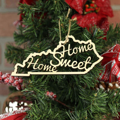 Torched Products Ornaments Kentucky Home Sweet Home Ornaments
