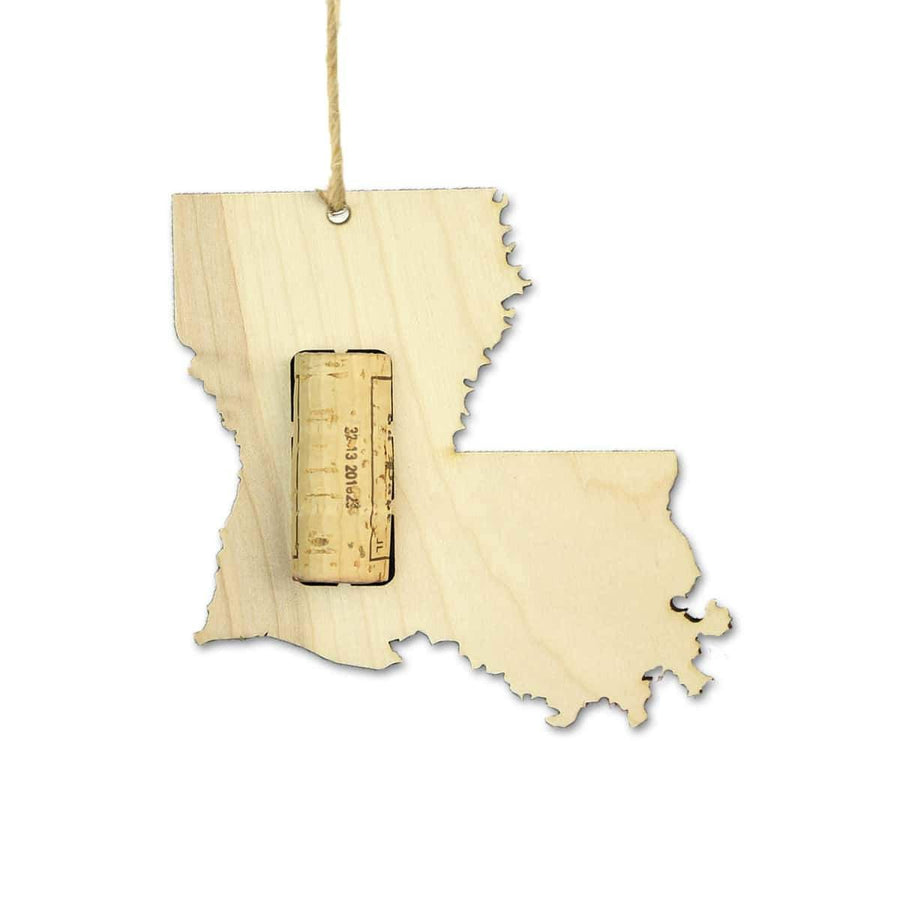 Torched Products Wine Cork Holder Louisiana Wine Cork Holder Ornaments (781199704181)