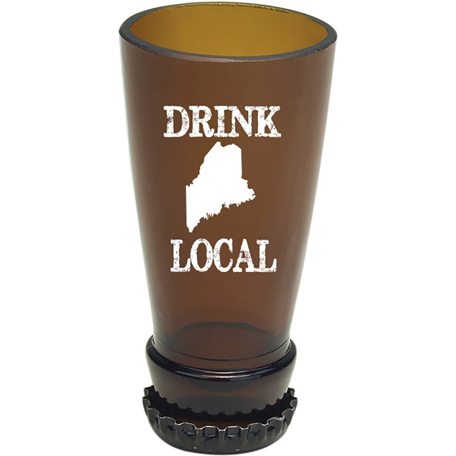 Torched Products Barware Maine Drink Local Beer Bottle Shot Glass