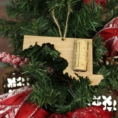 Torched Products Wine Cork Holder Maryland Wine Cork Holder Ornaments (781200326773)