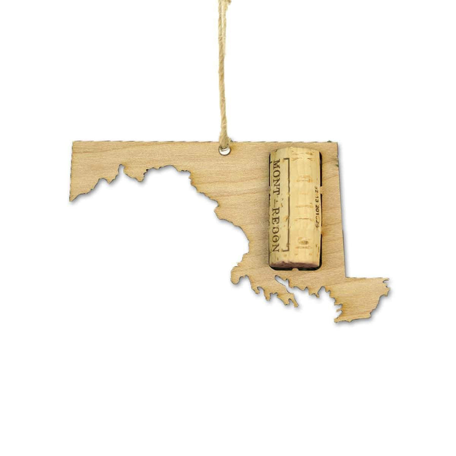 Torched Products Wine Cork Holder Maryland Wine Cork Holder Ornaments