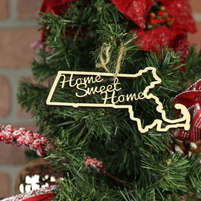 Torched Products Ornaments Massachusetts Home Sweet Home Ornaments (781216940149)