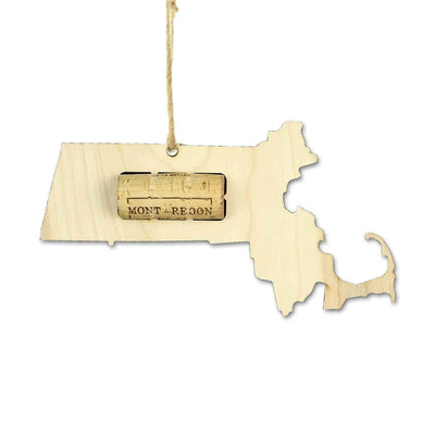 Torched Products Wine Cork Holder Massachusetts Wine Cork Holder Ornaments (781200851061)