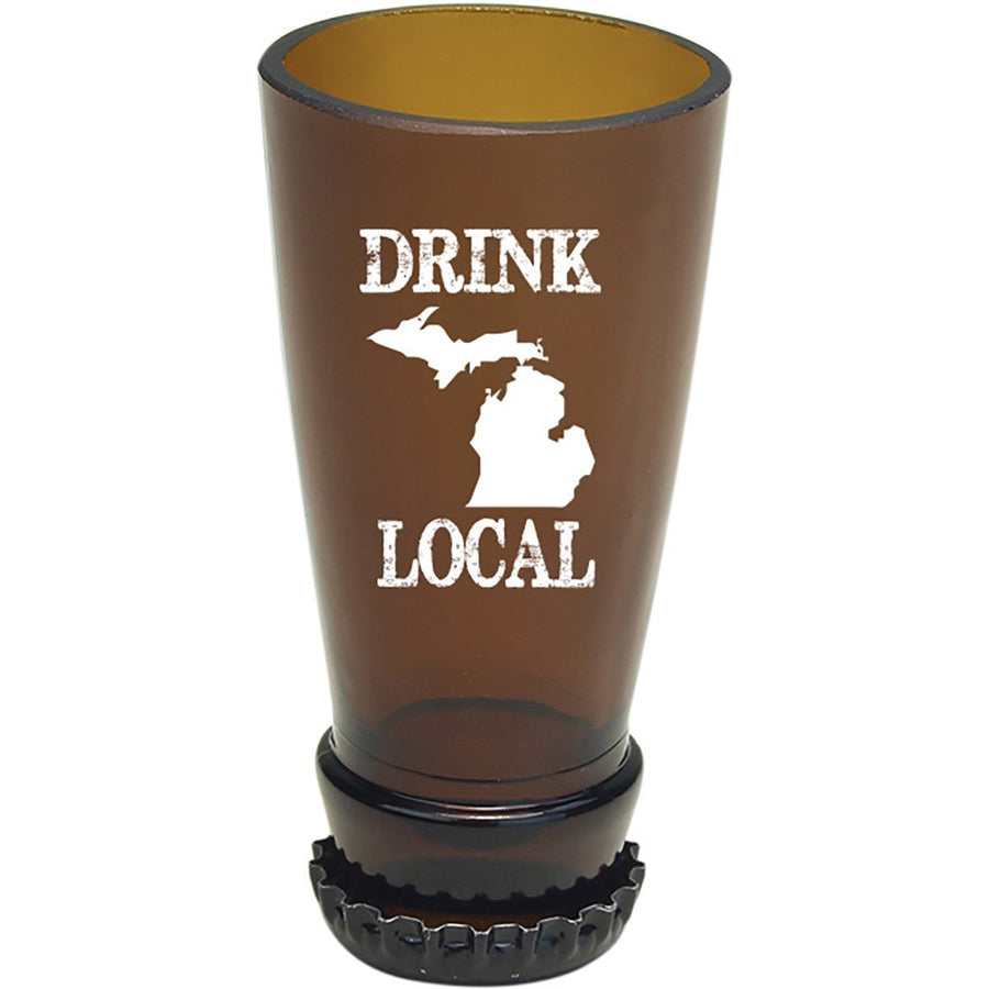 Torched Products Barware Michigan Drink Local Beer Bottle Shot Glass (4507015643185)
