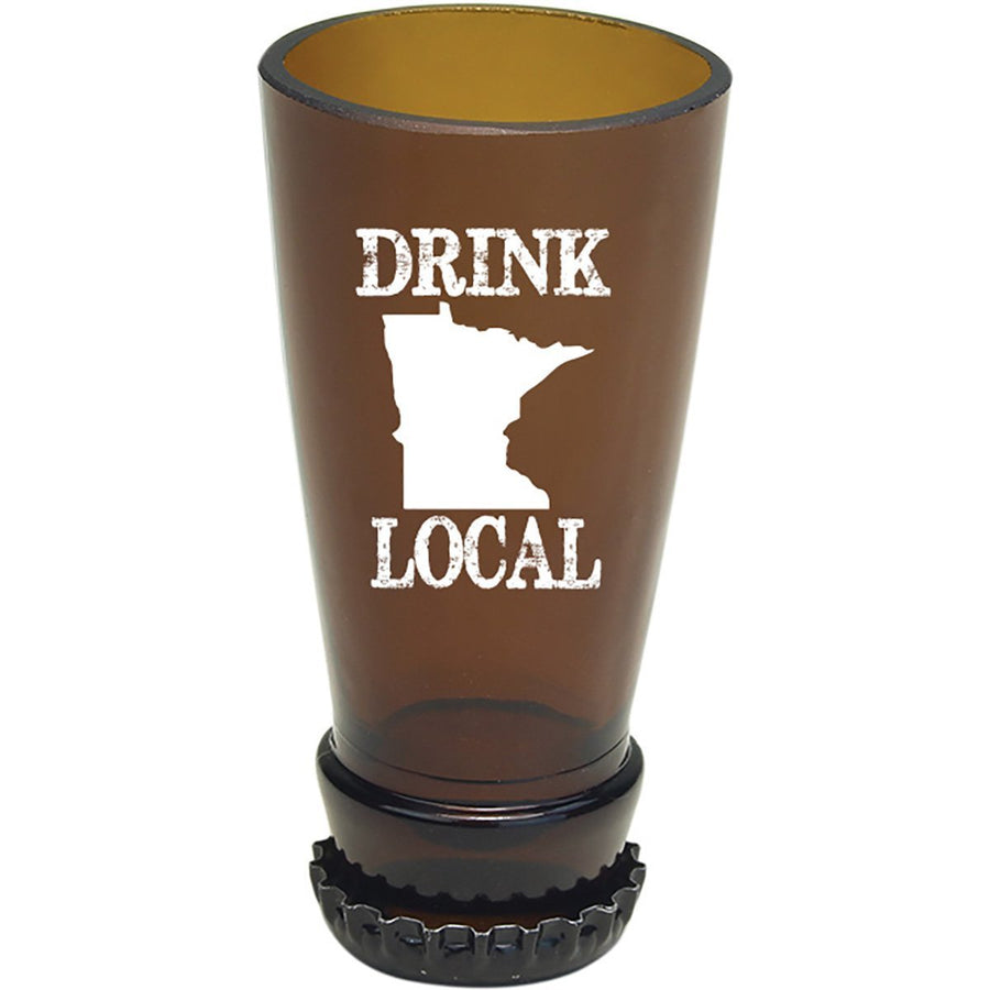 Torched Products Barware Minnesota Drink Local Beer Bottle Shot Glass