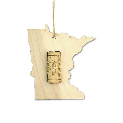 Torched Products Wine Cork Holder Minnesota Wine Cork Holder Ornaments