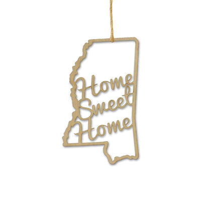 Torched Products Ornaments Mississipi Home Sweet Home Ornaments (781217562741)