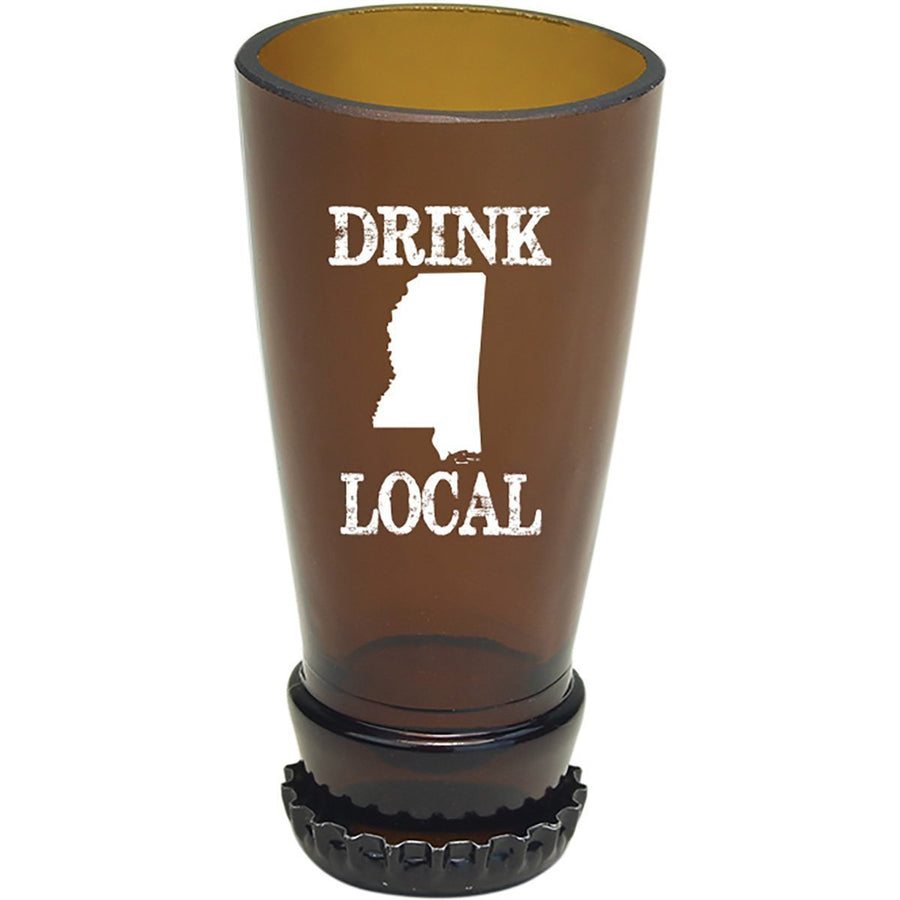 Torched Products Barware Mississippi Drink Local Beer Bottle Shot Glass (4507015708721)