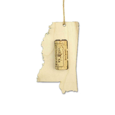 Torched Products Wine Cork Holder Mississippi Wine Cork Holder Ornaments
