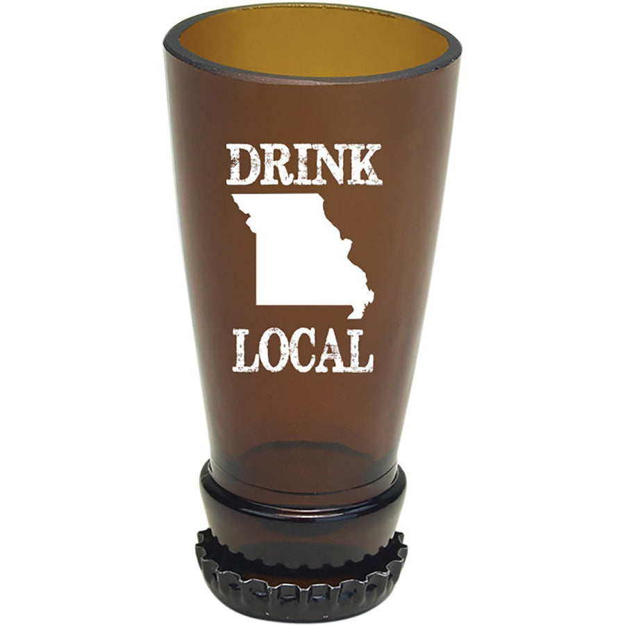 Torched Products Barware Missouri Drink Local Beer Bottle Shot Glass