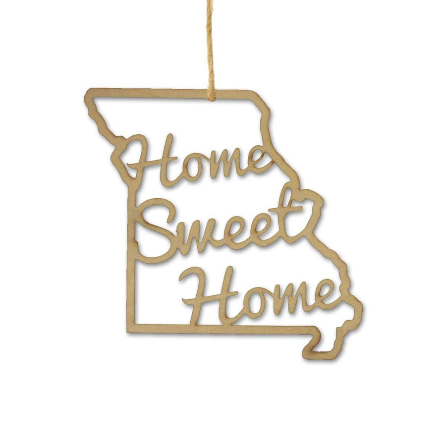 Torched Products Ornaments Missouri Home Sweet Home Ornaments