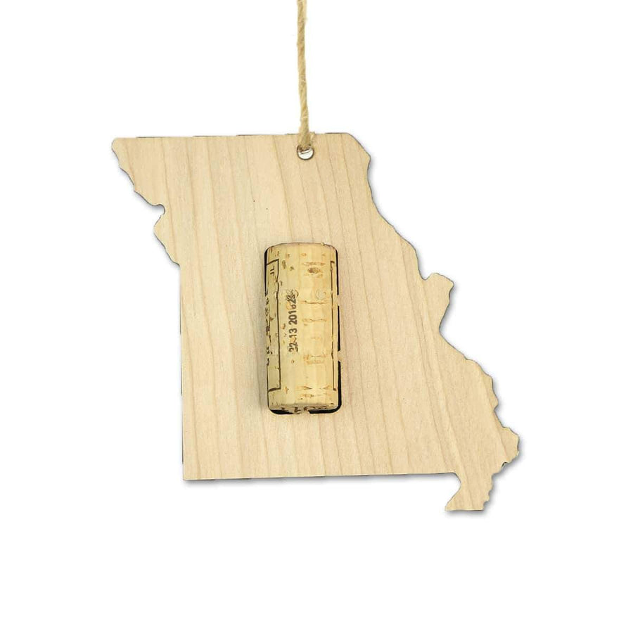 Torched Products Wine Cork Holder Missouri Wine Cork Holder Ornaments (781201768565)