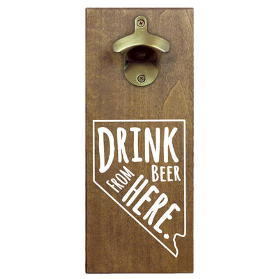 Torched Products Bottle Opener Default Title Nevada Drink Beer From Here Cap Catching Magnetic Bottle Opener (781498581109)