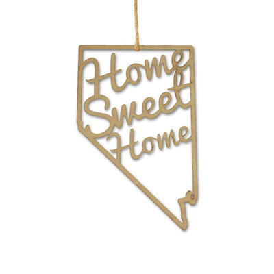 Torched Products Ornaments Nevada Home Sweet Home Ornaments
