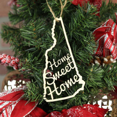 Torched Products Ornaments New Hampshire Home Sweet Home Ornaments