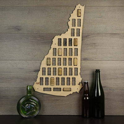 Torched Products Wine Cork Map New Hampshire Wine Cork Map