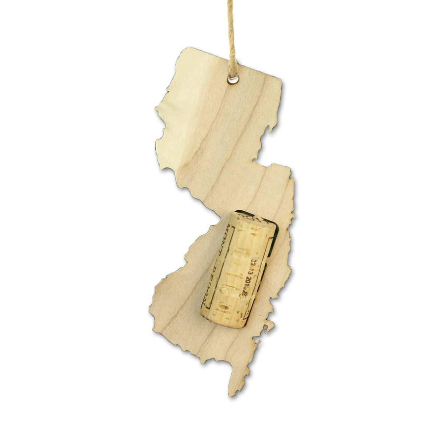 Torched Products Wine Cork Holder New Jersey Wine Cork Holder Ornaments (781203013749)