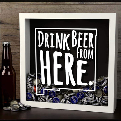 Torched Products Shadow Box New Mexico Drink Beer From Here Beer Cap Shadow Box