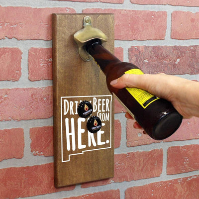 Torched Products Bottle Opener Default Title New Mexico Drink Beer From Here Cap Catching Magnetic Bottle Opener (781498253429)
