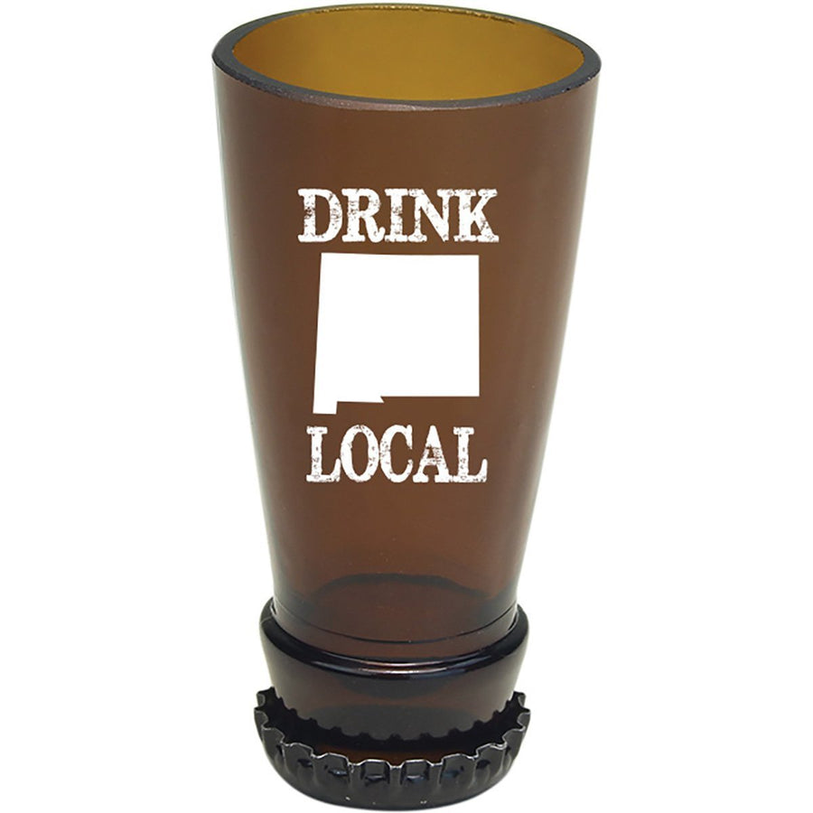 Torched Products Barware New Mexico Drink Local Beer Bottle Shot Glass (4507015970865)
